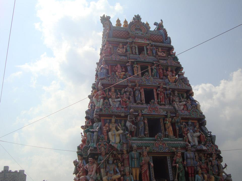Сингапур, Входа на Sri Mariamman Temple Singapore