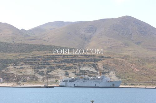 Гьокчеада - изглед от ферибота