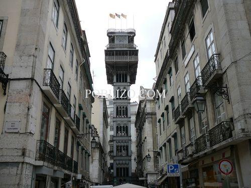Желязната кула-асансьор Santa Justa