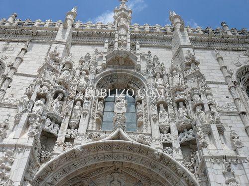 Фасадата на Свети Жером