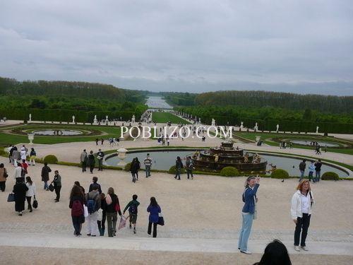 Изглед към парка на двореца Версай