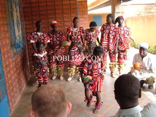 """Танцовата трупа на децата от Асоциация """"Кеоого"""" – Уагадугу, Буркина Фасо"""