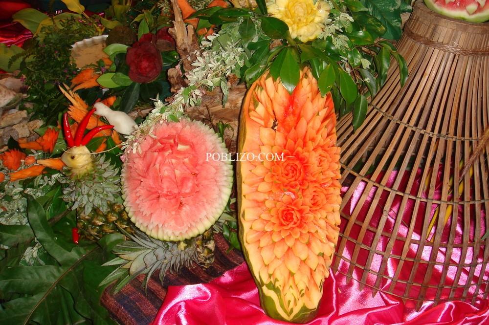 Батик-украса с плодове