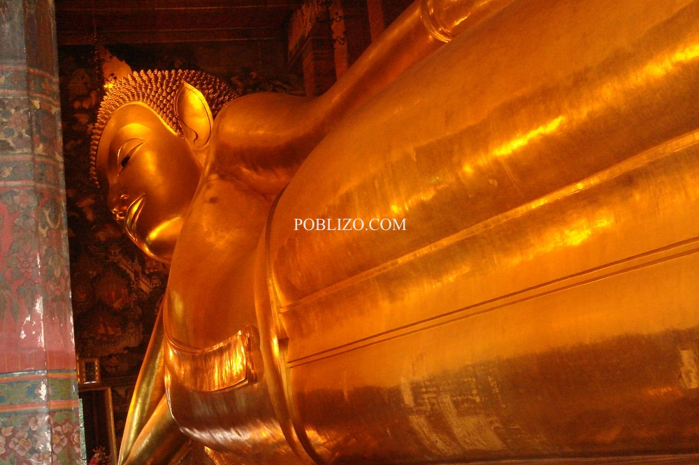 Полегналият златен Буда