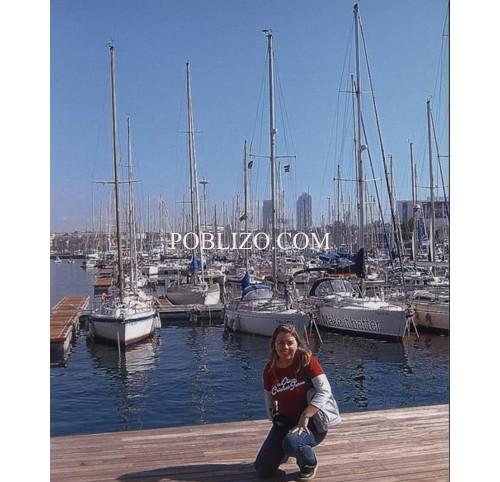 Яхти на пристанището в Барселона