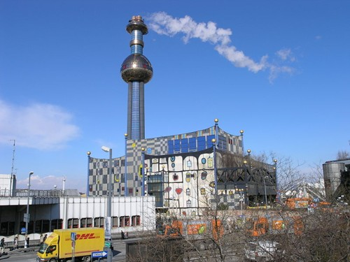 Фабриката за преработка на отпадъци, Виена