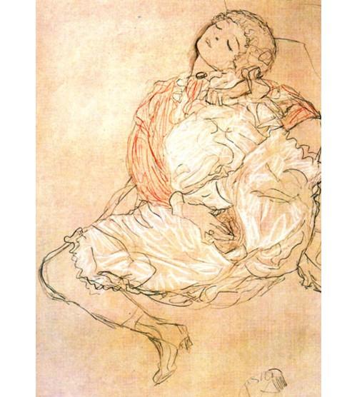 Седнала жена, 1916 г.