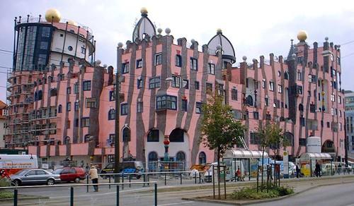 Къща Хундертвасер в Магдебург, Германия