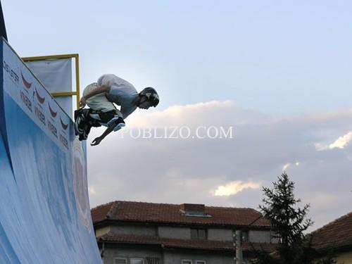 Павел Митренга се засилва за скок