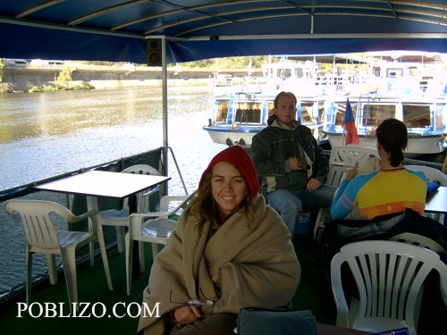 Разходка с корабче по Вълтава