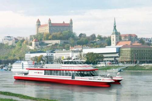Катамаран Братислава - Виена