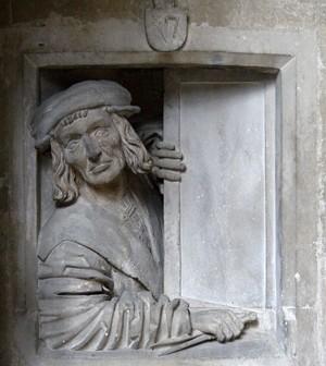 Автопортрет на неизвестен каменоделец