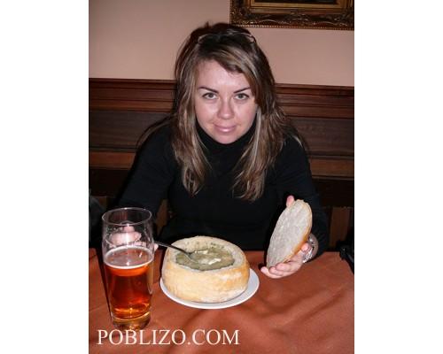 Супа в купа от хляб