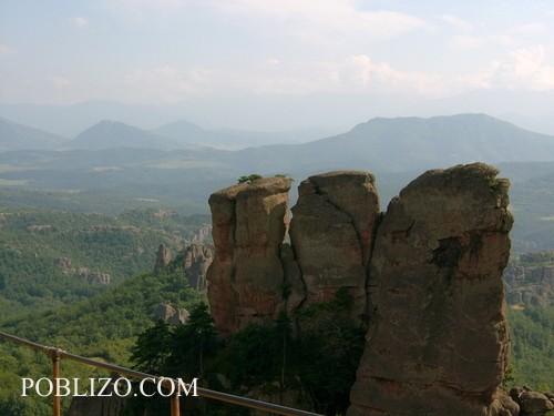 Гледка от Калето към каньона