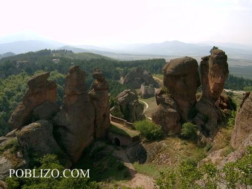 Крепостта Калето- поглед от върха