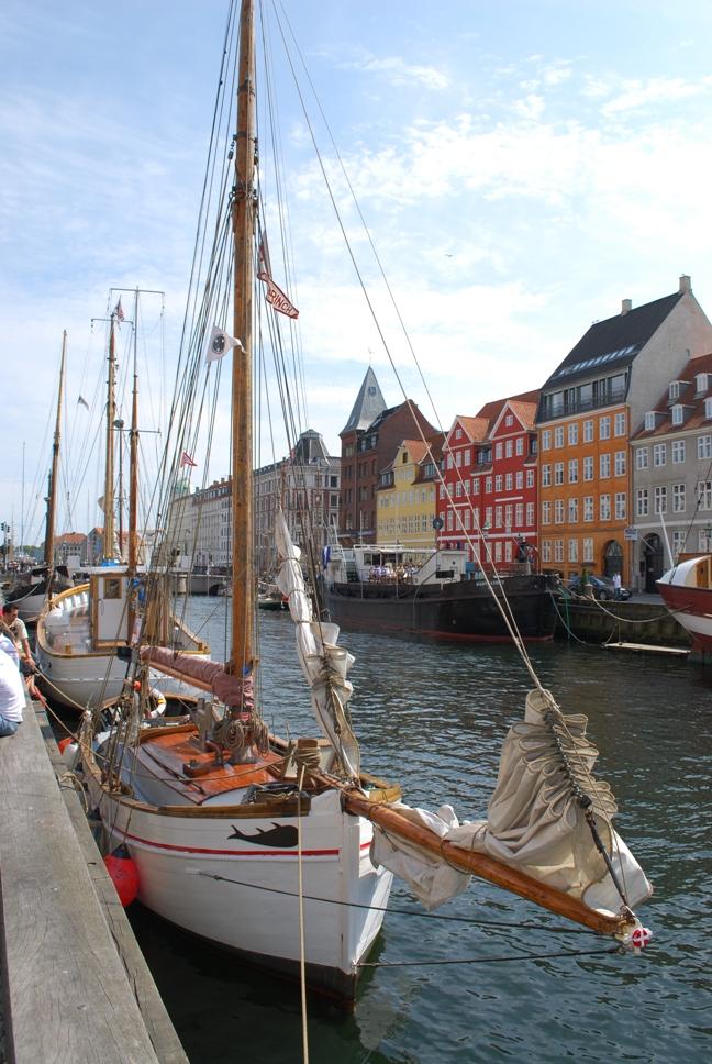 Крайбрежната улица на Копенхаген
