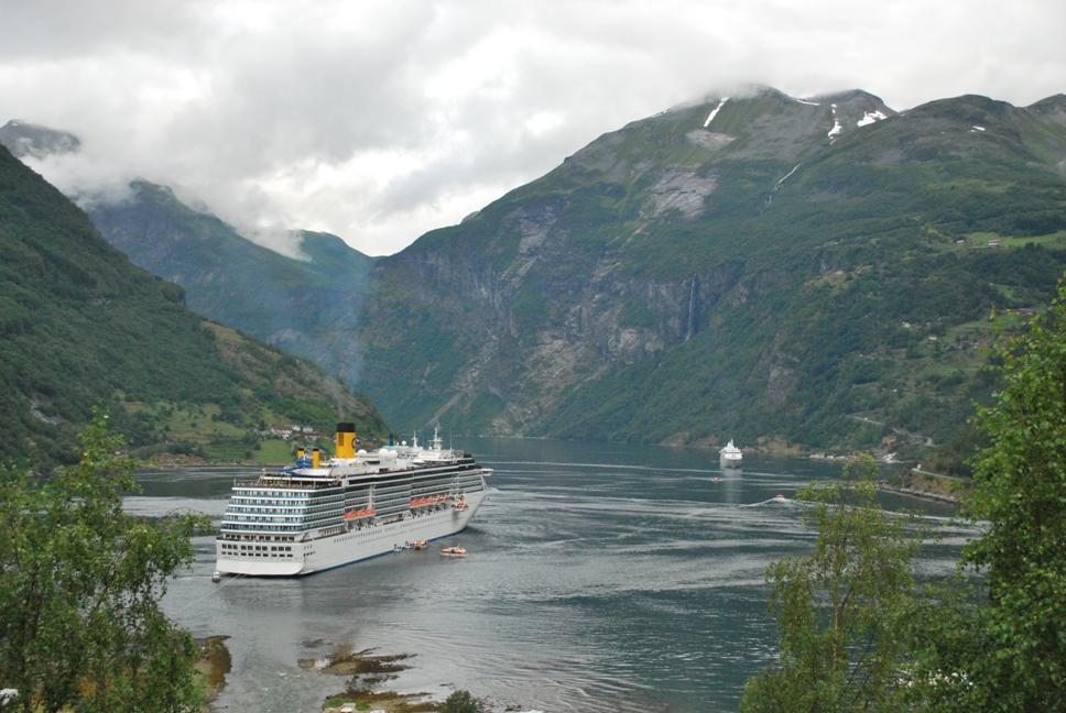 Geiranger фиорди, Норвегия