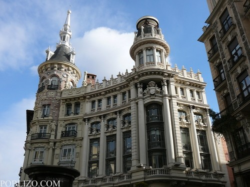 По улиците на Мадрид