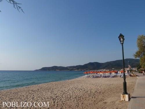 Плажът на Сарти