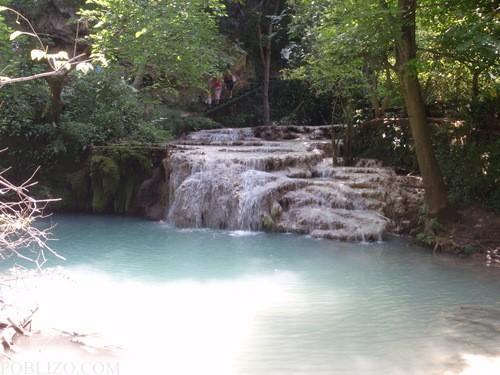 Малък пад в местността Крушунски водопади