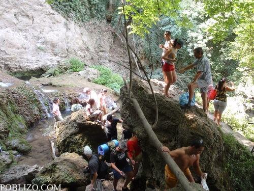 Тълпата на водопадите