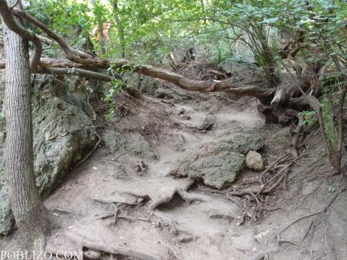 Пътеката към пещерите