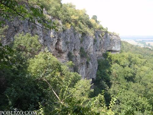 Скалите в местността