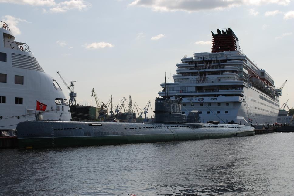 Подводница S189, Санкт Петербург