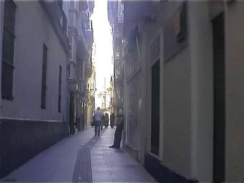 Уличка в Кадиз