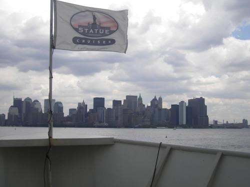 Изглед към Манхатън от корабчето