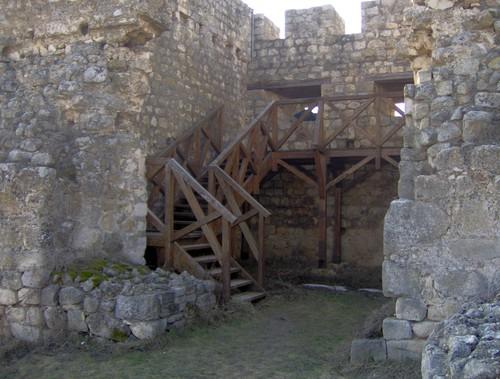 Вътршността на бойната кула