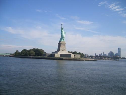 Островът със Статуята на Свободата