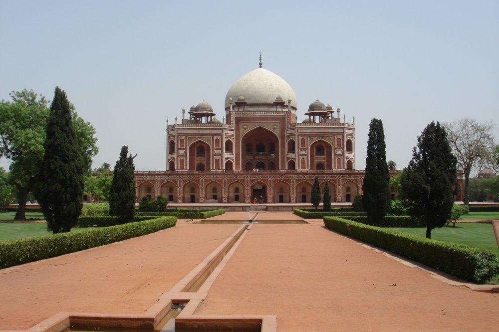 Мавзолеят на Humanyu в Делхи