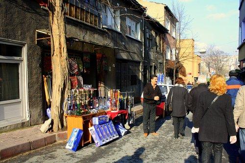 Уличен търговец на наргилета