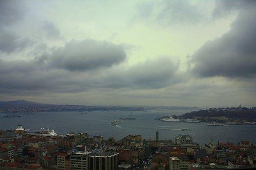 Облаци  над  Босфора