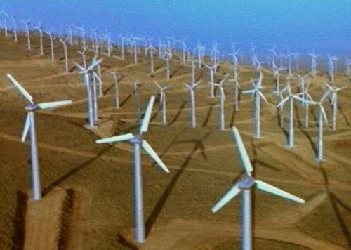 Ветрогенераторите в Роско