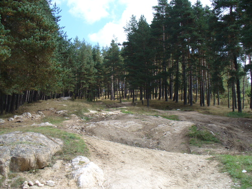 Началото на екопътека Тракийски могили