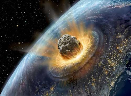 Ако астероид се сблъска със Земята
