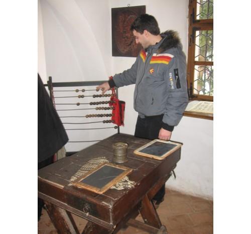 """Катедрата от 1820 г и """"компютърът"""" на г-н Олтяну"""