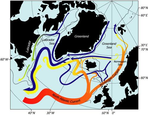 Циркулация на морските течения