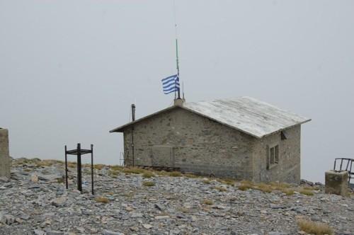 Старата метеорологична станция на вр.Свети Антоний