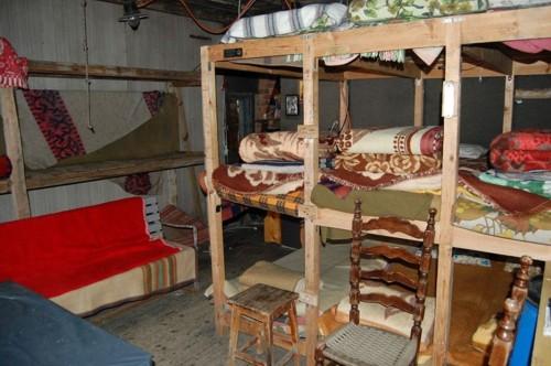 Стаята, обзаведана за заслон