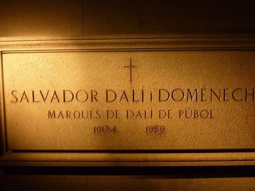 Гробът на Дали