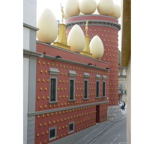 Фигергас, фасадата на музея
