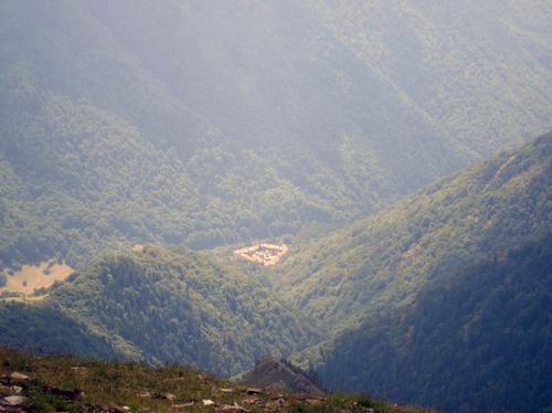 Към Рилския манастир