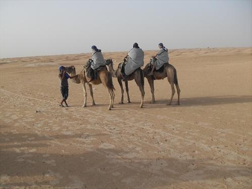 В пустинята Сахара