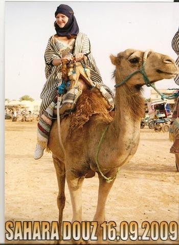 На гърба на камилата Хауа
