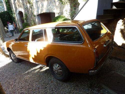 Една от колите- Датсун