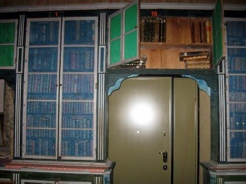 Библиотеката на манастира