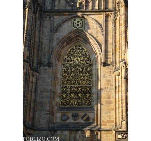 Детайл - прозорец на Свети Вит